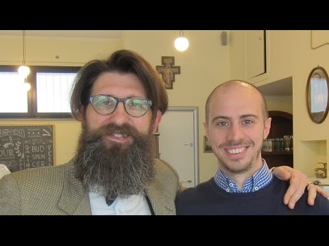 💈 Italian Barber - Head and Face shave with hot towel and Massage - No Talking ASMR