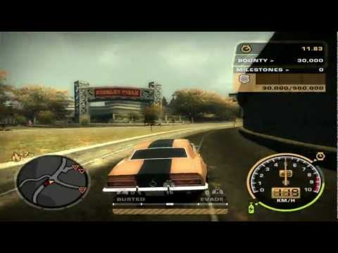 Need For Speed: Most Wanted (2005) - (Final) Black Edition Challenge #70 - Bounty