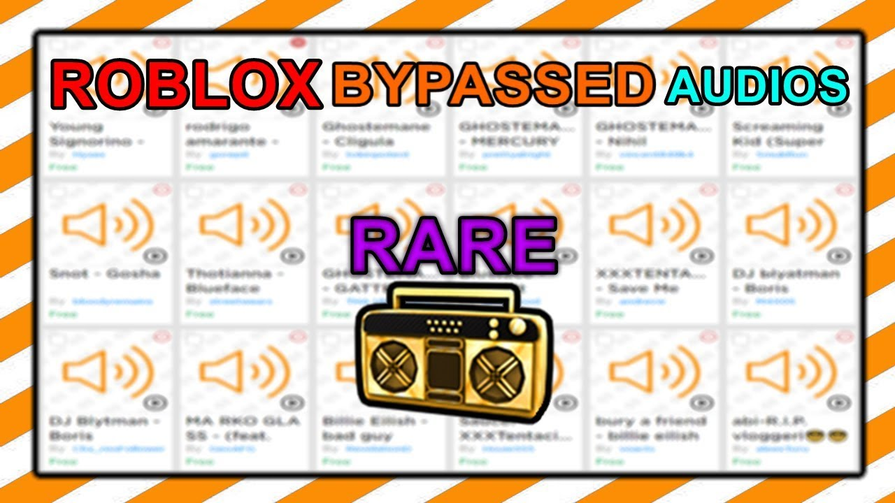New Bypassed Audios In Roblox 2019 By Robloxzone