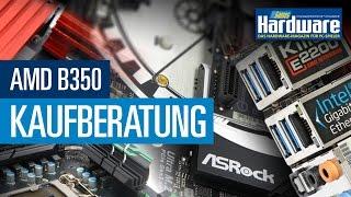 AMD B350 Kaufberatung - Vier günstige AM4-Mainboards vorgestellt