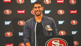 Jimmy Garoppolo Outlines Where the 49ers Offense Can Improve Moving Forward