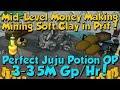 AFK Mining Soft Clay! Mid-Level Money Making [Runescape 3] 3.5M Gp/Hr!