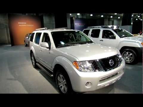 2012 Nissan Pathfinder Silver Exterior And Interior At 2012 New
