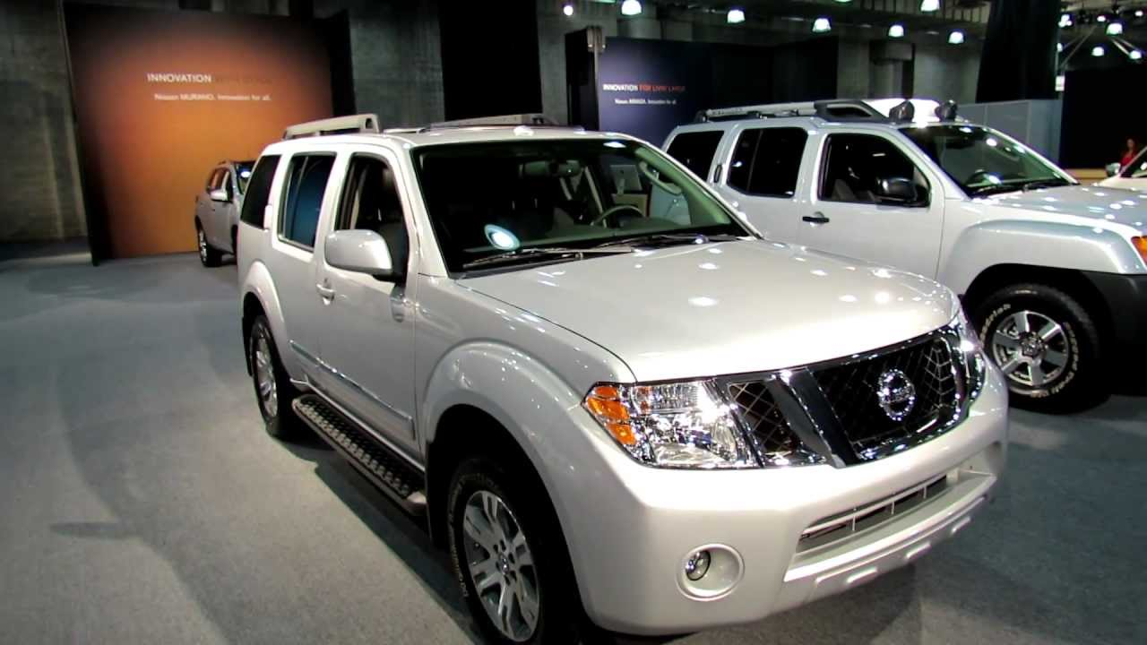 2012 Nissan Pathfinder Silver - Exterior and Interior at ...