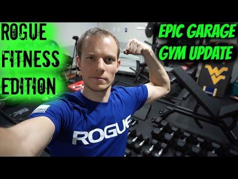 Epic rogue fitness garage gym transformation jonathan walseman