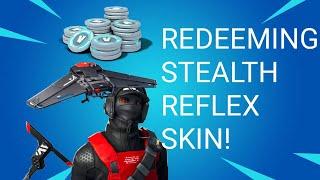 Redeeming stealth reflex skin fortnite