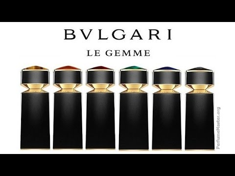 Bvlgari Le Gemme Men Fragrance Collection Youtube