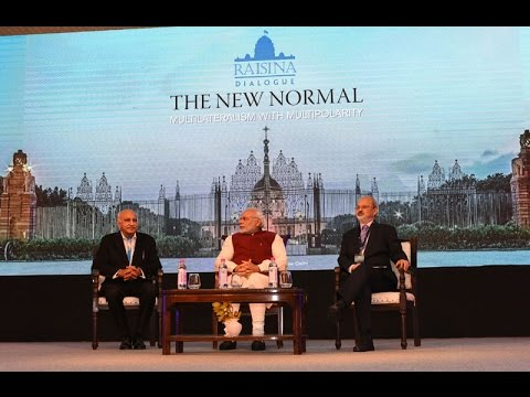 PM Narendra Modi's Inaugural Address at opening session of the 2nd Raisina Dialogue