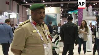 Flying taxis, robot police officers and drones at Gitex Tech Week