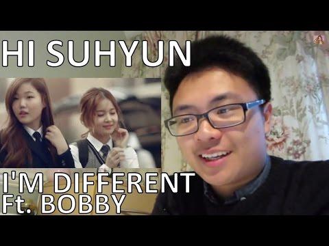 HI SUHYUN - I'M DIFFERENT 나는 달라 (ft. BOBBY) Kpop MV Reaction