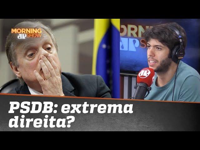 Caio Coppolla questiona PSDB: 'extrema direita'?