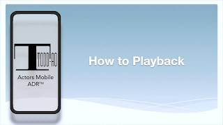 How To Playback