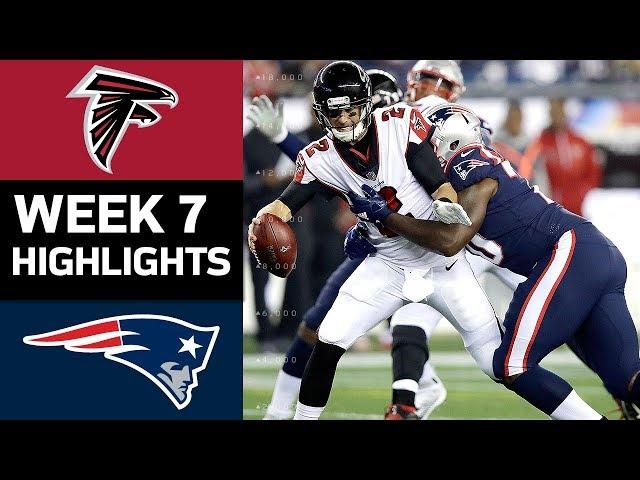 Falcons vs. Patriots | NFL Week 7 Game Highlights
