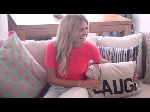 At home with Jesinta Campbell