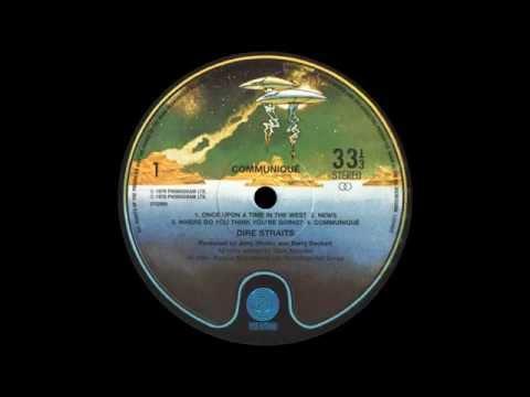 Dire Straits - Communiqué (side 1)