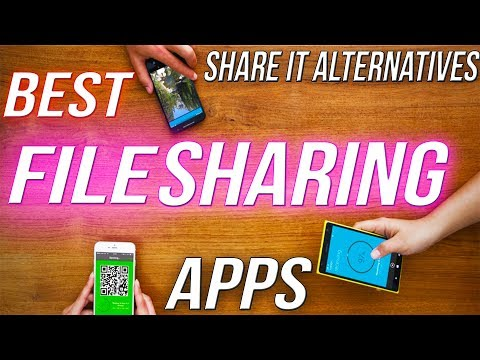 TOP 5 FILE TRANSFER APPS FOR ANDROID 2019 | BEST FILE SHARING APPS