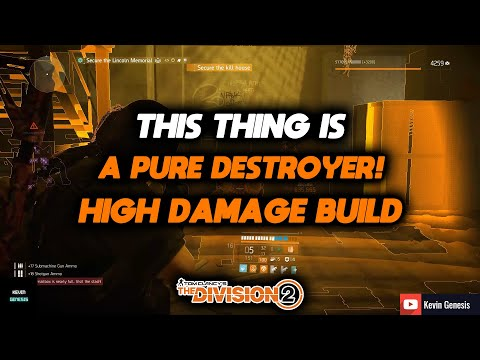The Division 2  THIS BUILD WILL DESTROY ANYTHING QUICKLY! HIGH DAMAGE AND AGGRESIVE BUILD SHOWCASE!