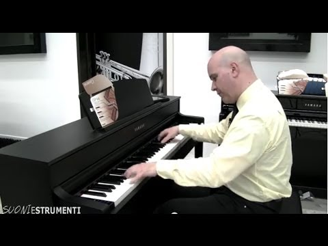 yamaha clavinova clp 545 overview youtube. Black Bedroom Furniture Sets. Home Design Ideas