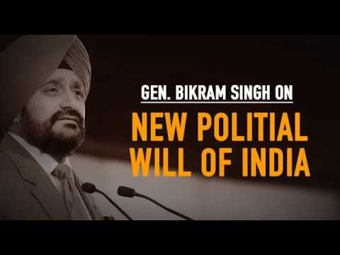 Security stalwarts hail new political will in India.