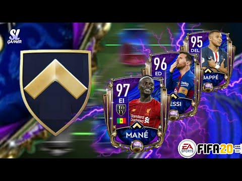 FULL TOTY ATTACK SQUAD BUILDER!! *MESSI 96|| MBAPPE 95|| MANÉ 97// FIFA20 MOBILE ⚽👑⚽👑⚽