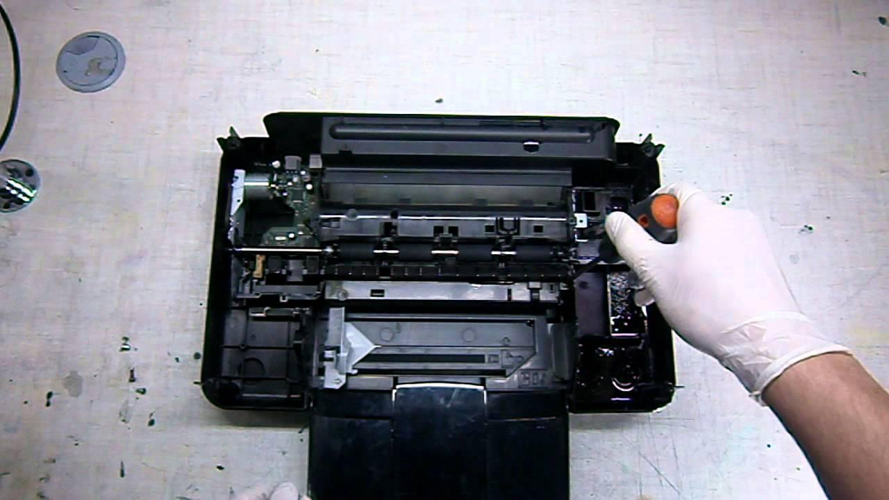 Инструкция по разборка принтера hp