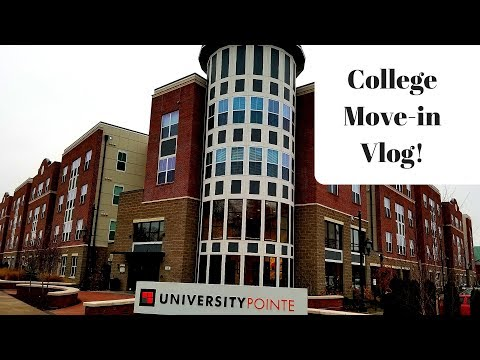 COLLEGE MOVE IN-DAY/APARTMENT TOUR 2018 | UNIVERSITY OF LOUISVILLE 💫