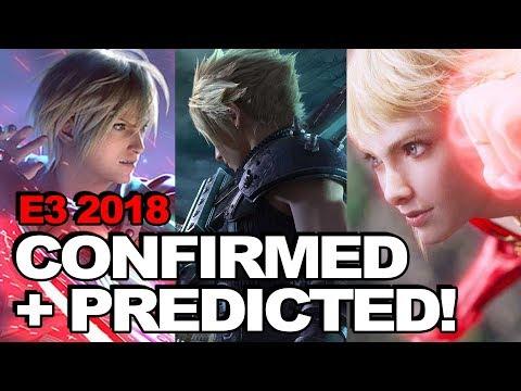 E3 2018: Confirmed Final Fantasy Games + Crazy Predictions (Feat. FF7 Remake, FFXVI + WoFF)