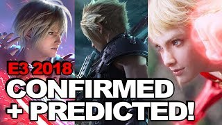 E3 2018: Confirmed Final Fantasy Games + Crazy Predictions (Feat. FF7 Remake, FFXVI + WoFF)