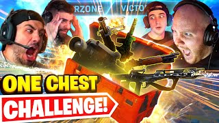 *ONE CHEST* ONLY CHALLENGE! WARZONE (HARD) Ft. Nickmercs, Cloakzy & SypherPK