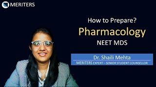 How to Prepare - Pharmacology - NEET MDS