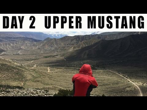 DAY 2 Bike Ride to Upper Mustang / Nepal-China border