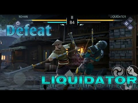 Defeat LIQUIDATOR (insane) #24|| Shadow Fight 3 ||