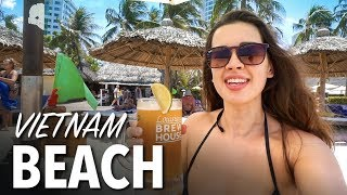 BEST BEACH IN VIETNAM - Nha Trang Beach & Walking Street