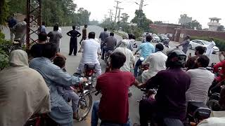 On Arrival Hasan Askri CM Punjab, Horn Protest of Public for Protocol