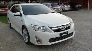 Авто Из Японии, Toyota Camry Hybrid 2014 Год, Обзор И Цена В Краснодаре!!!