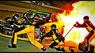 NASCAR Pit Road Accidents