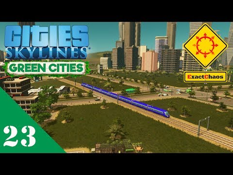 Cities Skylines Green Cities Let's Play 23 - More Public Transport