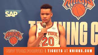 Live: New York Knicks Media Day