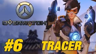 Overwatch (PS4 GAMEPLAY) - Part 6 (Tracer Gameplay)