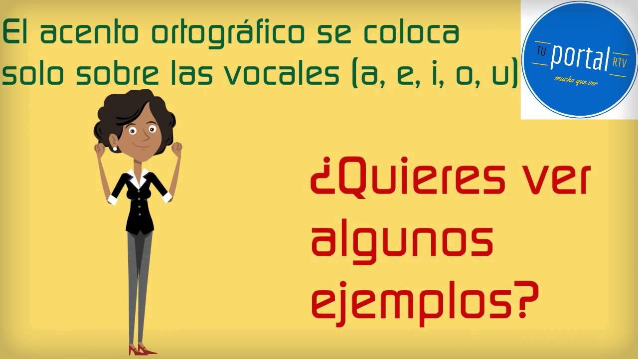 Vistoso Reanudar Los Acentos Ortográficos Correctos Festooning ...