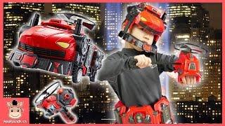 파이어로보 강철소방대 타이탄 기어 세트 슈퍼 히어로 변신 놀이 ♡ 자동차 변신 로봇 장난감 Fire Car Toy | 말이야와아이들 MariAndKids