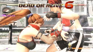 DEAD OR ALIVE 6 | ALL BREAK BLOWS AND BREAK HOLDS (4K UHD 2080 TI)