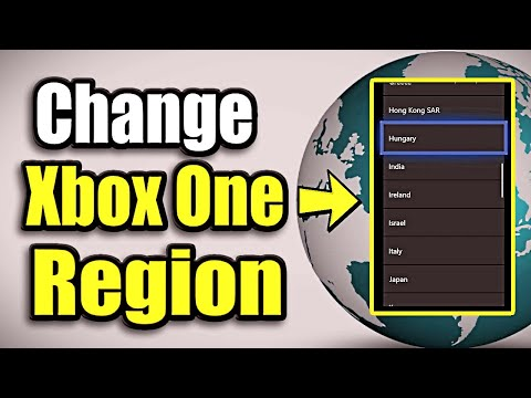 How To CHANGE Xbox One Region And Language Settings | (Remove Region Lock!)