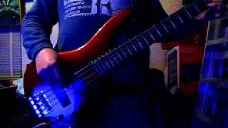 love is the drug - bryan ferry - bass cover