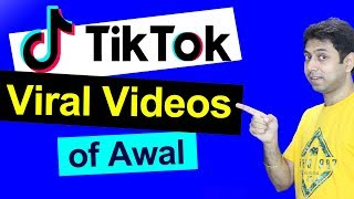 Watch tiktok most famous video compilation of awal. he has created popular funny content on tiktok. his creative way making videos made tik tok cl...