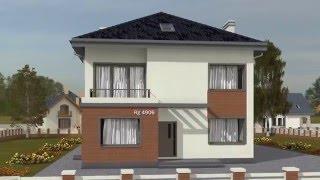 Проект двухэтажного дома Rg4906(Ссылка на проект: https://ruplans.ru/proekti/proekti_4906.html Проект индивидуального двухэтажного жилого дома с чердаком..., 2016-01-11T09:13:00.000Z)