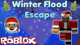Snow! Winter Flood Escape | Roblox