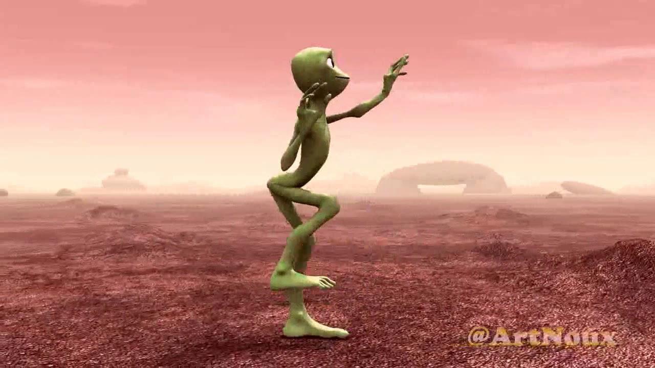 extraterrestre qui danse parole