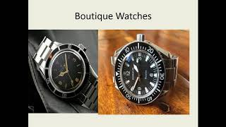 Boutique Watch Collection