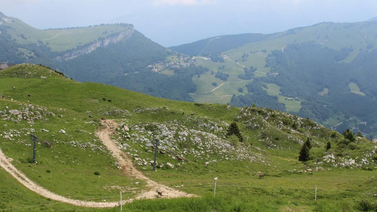 Monte Baldo Funivia Cable Car Malcesine Lake Garda Italy